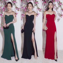 Đầm Dạ Hội Hoàng Gia Xẻ Tà Cao Cấp giá sỉ