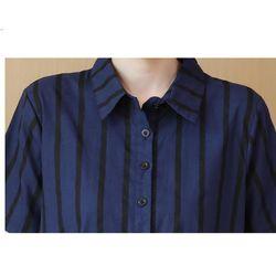 Đầm bầu sơ mi công sở sọc giá sỉ, giá bán buôn