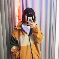 Áo khoác dù nữ phối nhiều màu giá sỉ