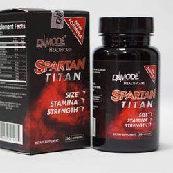 Thực Phẩm Chức Năng Hỗ Trợ Tăng Cường Sức Khoẻ Sinh Lý Nam Giới Spartan Titan Hộp 30 Viên