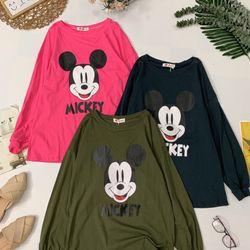 Áo thun Mickey form dài giá sỉ