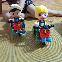 đồ chơi e bé đi xe đạp