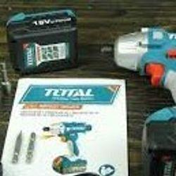 Máy vặn siết vít dùng pin Li-ion Total TIDLI228181