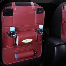 Túi treo sau ghế ô tô cao cấp có nhiều ngăn chứa đồ nhiều tiện lợi 115