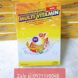 Tăng cân Multi Vitamin Thái Lan hàng chuẩn giá sỉ