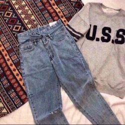 Baggy jean cột eo giá sỉ, giá bán buôn
