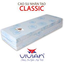 Nệm cao su nhân tạo VIVIAN CLASSIC Gấp 3 KT 1m6x2mx10cm giá sỉ