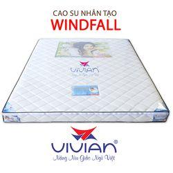 Nệm cao su nhân tạo 1 viền Vivian Winfall KT 1m6x2mx12cm giá sỉ