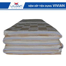 Nệm xếp gấp 5 đa năng Vivian kích thước 0m8x2mx3cm giá sỉ