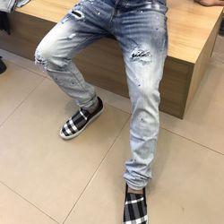 Jean nam cực thời trang