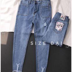 Jean nữ size đại giá sỉ