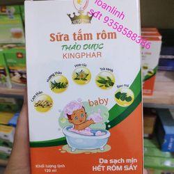 sữa tắm rôm Kingphar cho bé giá sỉ