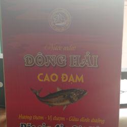 Nước mắm gia truyền DH1 - cốt cá Nhâm - Nước mắm Đông Hải giá sỉ