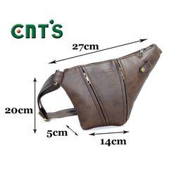 Túi đeo chéo CNT Unisex MQ25 NÂU giá sỉ