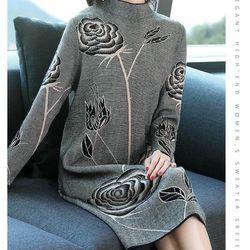 Đầm len dáng dài suông cao cấp giá sỉ