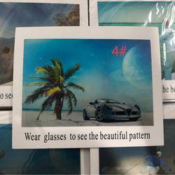 Tấm thử tròng mắt kính phân cực polaroid khổ 18cmx 14cm giá sỉ