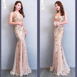 Đầm ren dạ hội xinh cao cấp trẻ
