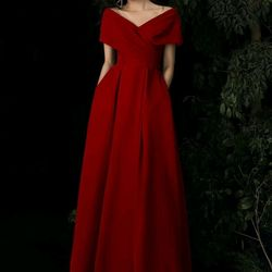 Đầm dạ hội thun cao cấp