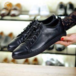Giày nam buộc dây thể thao đẹp chất da mềm đế khâu chắc chắn giá sỉ