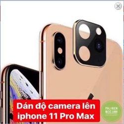 Miếng dán giả cụm Camera Iphone 11 PROMAX giá sỉ