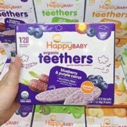 BÁNH ĂN DẶM HỮU CƠ HAPPY BABY TEETHERS giá sỉ, giá bán buôn