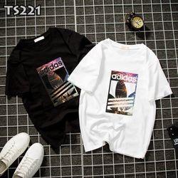 Áo thun in trắng đen
