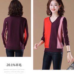 Áo len phối màu cao cấp giá sỉ