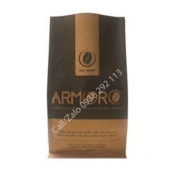 Bao bì đựng cà phê Armoro đáy vuông giá sỉ
