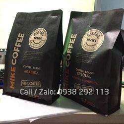 Bao bì giấy kraft đựng cà phê 8 cạnh loại 1kg giá sỉ