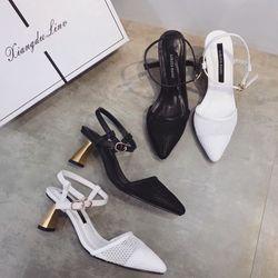Giày sandal cao gót kiểu giá sỉ