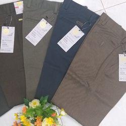 Quần KAKI Kaki Nam trung niên vải in dấu trừ giá sỉ