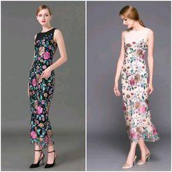 Đầm ren hoa cao xinh