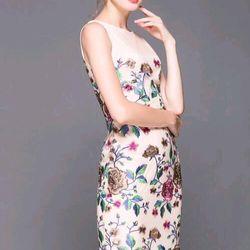 Đầm ren hoa cao xinh giá sỉ, giá bán buôn