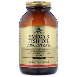 Viên uống dầu cá Omega 3 cao cấp Solgar Omega-3 Fish Oil Concentrate - 120 viên giá sỉ