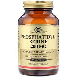 Viên uống bổ não Solgar Phosphatidylserine 200 mg - 60 viên