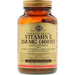 Viên uống vitamin E Solgar Naturally Sourced Vitamin E 268 mg 400 IU - 100 viên
