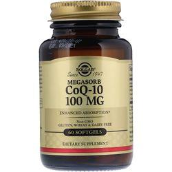 Viên uống bổ tim mạch Solgar Megasorb CoQ-10 100 mg - 60 viên