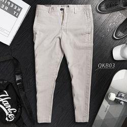 Quần Kaki Giả Jeans Cao Cấp 4 Màu Năng Động giá sỉ
