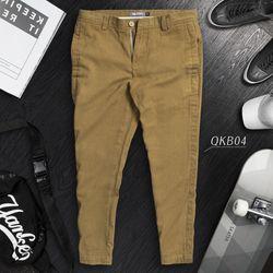 Quần Kaki Cao Cấp Giả Jeans 4 Màu Năng Động giá sỉ