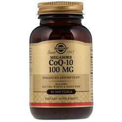 Viên uống bổ tim mạch Solgar Megasorb CoQ-10 100 mg - 90 viên