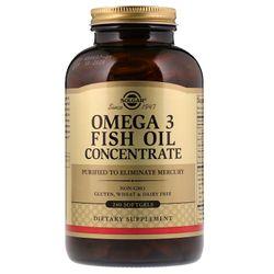 Viên uống dầu cá Omega 3 cao cấp Solgar Omega-3 Fish Oil Concentrate - 240 viên giá sỉ