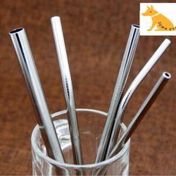 Ống Hút Inox 304 - 215cmx8mm Ống Hút Sinh Tố