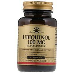 Viên uống bổ tim mạch Solgar Ubiquinol Reduced CoQ10 100 mg - 50 viên