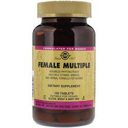 Vitamin tổng hợp cho nữ Solgar Female Multiple - 120 viên