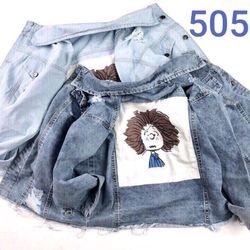 Áo khoác jean nữ cô gái tóc xù giá sỉ, giá bán buôn