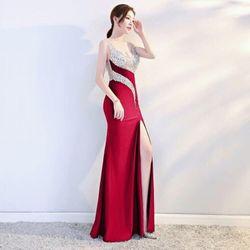 Đầm dạ hội xẻ đùi dáng dài giá sỉ giá bán buôn giá sỉ