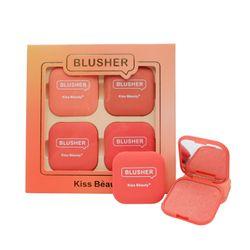 Set 4 má hồng dạng phấn Kiss Beauty No 83327-03A giá sỉ