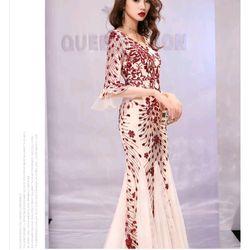 Đầm ren dạ hội xinh xắn giá sỉ, giá bán buôn