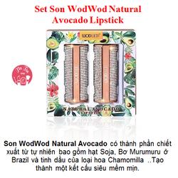 Set Son WodWod Natural Avocado Lipstick