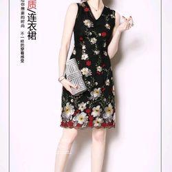 Đầm ren hoa cao cấp trẻ trung giá sỉ, giá bán buôn